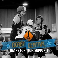 Last week we had some reflections on Derby Central's first year but now we have some Thank Yous! Head over to derbycentral.net and check out some of the great collaborators we worked with this year.  Graphic by @discjockeyagentmeow by derbycentral