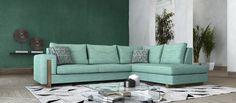 Γωνιακός καναπές Oia | Sectional sofa Oia #homedecor #homedecorideas #furniture #interiordesign #livingroom #livingroomdecor #sectionalsofa #sofa Sectional Sofa, Couch, Sofa Design, Live, Furniture, Home Decor, Style, Swag, Modular Couch