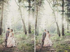 Lake Arrowhead Wedding by Iris and Light - enfianced