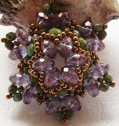 Pendant Tutorial  Csorbolya-I have some beads lke these!