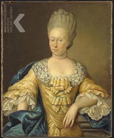 August Christian Hauck  Datering   1770   Titel   Portret van Adriana Johanna van Heusden (1741-1800)