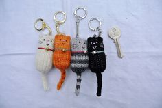 These collectible keychains. | 24 Things Every Crazy Cat Lady Needs In Her Life