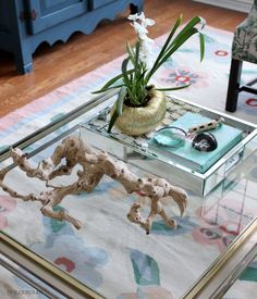 the cuban in my coffee: staging a coffee table | my girly dream