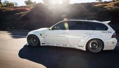 Insane Liberty Walk BMW wagon.  I like - http://extreme-modified.com/