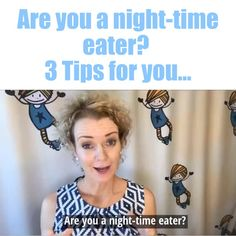 Many women struggle with night-time eating. 👉Here are 3 tips to put night-time eating to bed. Fast Weight Loss Tips, Weight Loss Detox, Yoga For Weight Loss, Weight Loss Diet Plan, Weight Loss For Women, Weight Loss Plans, Ways To Lose Weight, Keto Transformation, Weight Loss Inspiration
