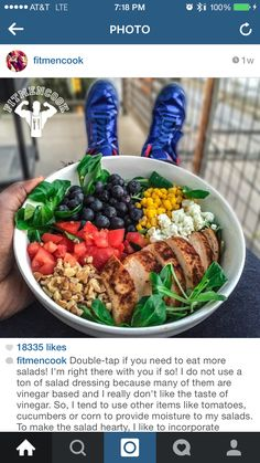 @fitmencook love there food ideals