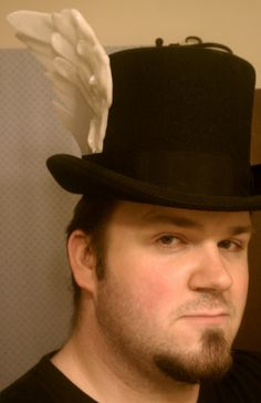What's that? A top hat with a wing made out of InstaMorph of course.