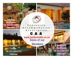 Some of our members in Centurion. Bed And Breakfast, Canning, Home Canning, Conservation