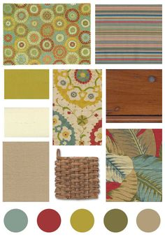 Cottage Style, Color and Print Inspiration!   ( I think these darker colors would look fab in a mountain cabin.)