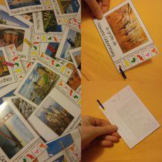 Mes clothespin cards sur les monuments du monde - Elau Art History Memes, Montessori Activities, Teaching English, Social Studies, Education, Learning, School, Cards, Cycle 2