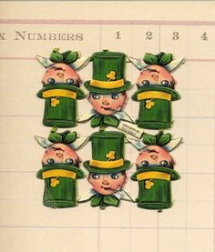 Items similar to Lucky Vintage German Paper Leprechauns - St Patricks Day Die Cuts - Vintage Paper Scrap Little Irish Man with Pipe on Etsy Pipe Cleaner Crafts, Pipe Cleaners, Irish Celebration, St Patricks Day Cards, Chenille Crafts, St Pats, Retro Christmas, Leprechaun, Vintage Paper