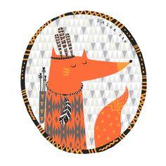 лиса индеец / fox