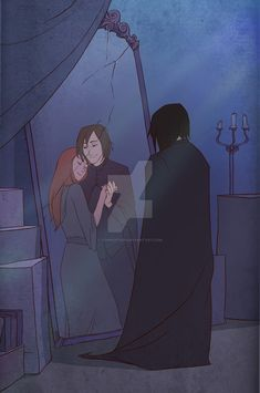 What Snape  could see in the Mirror of Erissed