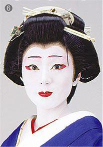 geisha makeup | geisha-makeup