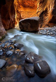Light of the Narrows Zion NP, Utah