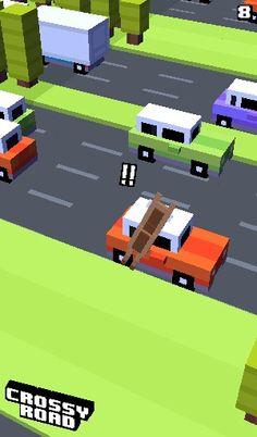 Poor horse :( !!! Love crossy road !!!!!!!!
