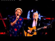 """Simon and Garfunkel Rock and Roll Hall of Fame 25th Anniversary show """"The Boxer"""" ...incredible!...their voices have barely changed!"""