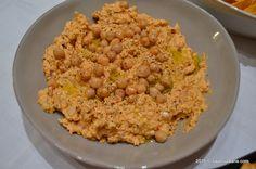 Crema de naut cu iaurt grecesc si unt de arahide Savori Urbane (4) Unt, Nachos, Risotto, Macaroni And Cheese, Grains, Rice, Cooking, Ethnic Recipes, Food