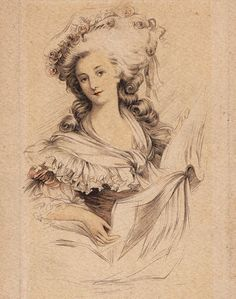 Princess Maria Teresa Luisa (1749-1792) of Savoy-Carignan, Italy (Princess de Lamballe). She married age 17 to Louis Alexandre Joseph Stanislas de Bourbon (1747-1768) Prince de Lamballe, France, heir to the greatest fortune in France. After 3 months Louis Alexandre, a jaded hedonist, tired of his wife & resumed his life of débaucherie. But, In 1768 at age 20 he died 16 months after his marriage of a venereal disease in the arms of his wife.