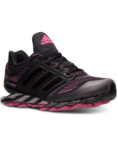 big sale e7635 5dd79 adidas Women s Springblade Drive Running Sneakers from Finish Line Shoes -  Finish Line Athletic Sneakers - Macy s