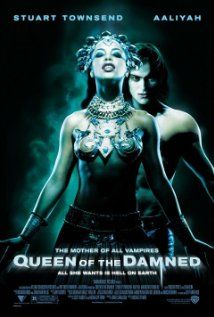 Queen of the Damned (2002), Warner Bros. Pictures, Village Roadshow Pictures, and NPV Entertainment with Aaliyah, Stuart Townsend, and Marguerite Moreau. Screen adaptation based on the book by Anne Rice. This was better than the Interview With The Vampire, given Cruise's complete miscast.