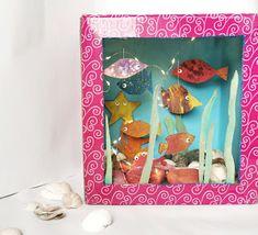 Nowele Domowe : Akwarium DIY dla dzieci. Pinterest