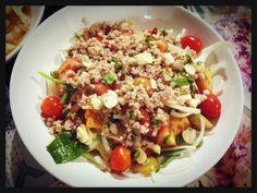 Thai Spicy Salad!! lol