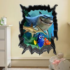 3D Finding Dory Wall Decal