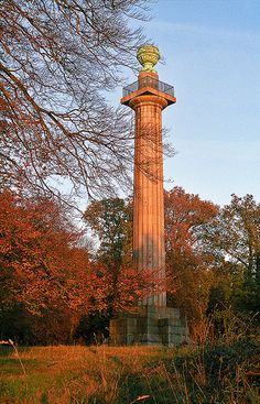 Colors of Autumn (7 of 18) | Ashridge Park, Hertfordshire, UK | View of Bridgewater Monument