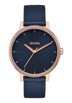 Kensington Leather | Montres Cuir Femme | Montres et Accessoires Premium Nixon