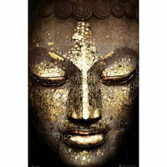 Buddha - Golden Face Inspirational Poster World Culture Poster Print, 24x36 by Poster Revolution. $4.45. Size: 24 x 36 inches. Poster Title: Buddha - Golden Face Inspirational Poster. Decorate your home or office with high quality posters. Buddha - Golden Face Inspirational Poster is that perfect piece that matches your style, interests, and budget.