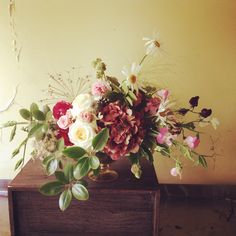Working with leftovers allows me to really play with my designs. I always learn so much! Alison Buck Floral Design
