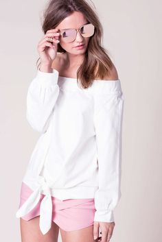 Kenny Off Shoulder Sweatshirt