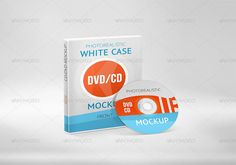 Realistic DVD&CD Mockup Designs 9 high resolution presentations (PSD-files), from 3000×2000px to 4000×4000px, suitable for print and screen purposes Works with standard full-size (300dpi) DVD case covers 3240×2175px and disk labels 127×127mm Smart objects - just place your design and get presentation ready for use You can paste square or rounded disk label design into smart object and it automatically makes realistic disk with your design Box cover and disk templates included CS4 or higher…