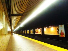 Spadina Subway Station by jsaneb, via Flickr
