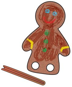 Preschool December 2014 - Run, Run, Gingerbread Man!The Mailbox
