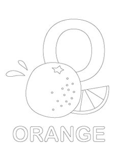 Alphabet Coloring Pages Letter Omr Printable