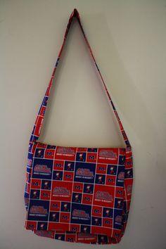 Ole Miss Rebels Messenger/Diaper Bag   #handmade #bag #purse #sewing