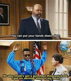 The sad thing is, this is now reality. #blacklivesmatter