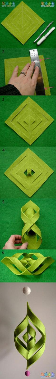 A beautiful and simple method of making non-woven strap  패브릭 DIY