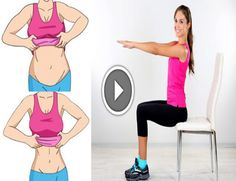 5 Chair Exercises That Will Reduce Your Belly Fat While You Sit – Healthy To Fit