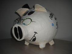 grosses Sparschwein - Alter Sack - Geburtstagsschwein - Briefbox - Geldgeschenk-