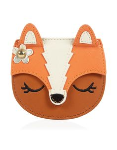 Designer Clothes, Shoes & Bags for Women Fox Purse, Fox Bag, Leather Purses, Leather Wallet, Leather Bag Pattern, Animal Bag, Leather Bags Handmade, Kids Bags, Cute Bags