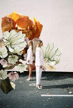 Amy Lidgett X Olivia Ogden #fashion #fashionphotography #photography #graphicdesign #photographer #model #shoot #fantasy #photoshoot #styling #lookbook #collage #amylidgett #oliviaogden