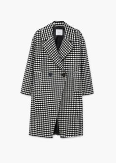 Get your Checkered wool-blend coat and satisfy your fashionista crave. Blazer Outfits Casual, Coats For Women, Wool Blend, Winter Outfits, Fashion Looks, My Style, How To Wear, Jackets, Clothes