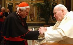 A new book offers fascinating insight into the late pontiff from the likes of Benedict XVI and those who knew Karol Wojtyla growing up… Pope Of Rome, Papa Juan Pablo Ii, Catholic Herald, Pope Benedict Xvi, Lady Of Fatima, Pope John Paul Ii, Saint Quotes, Pope Francis, Saint John