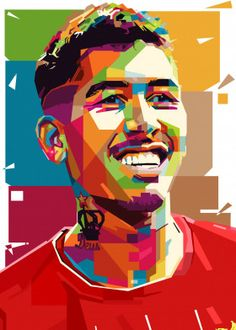 Roberto Firmino detailed, premium quality, magnet mounted prints on metal designed by talented artists. Our posters will make your wall come to life. Pop Art Posters, Poster Prints, Richard Dawson, Liverpool Fc Wallpaper, Liverpool Champions, Soccer Memes, Pop Art Portraits, Street Art Graffiti, Lionel Messi