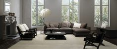 Contemporary Modern Design And How To Incorporate It Into Your Home - 'Lazytime Corner Sofa from Camerich