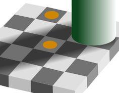 Optical grey squares orange brown.svg