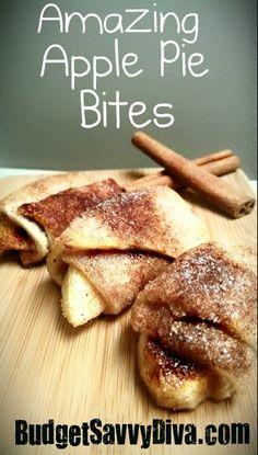 Amazing Apple Pie Bites http://media-cache6.pinterest.com/upload/108790147218557883_35fLKXbN_f.jpg budgetsavvydiva food